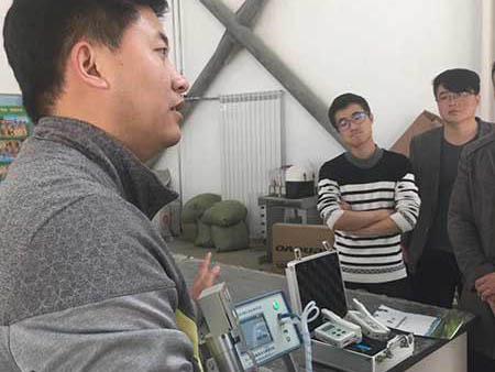 光合作用测定仪帮助长治学院进行教学研究