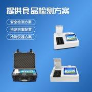 地级食品卫生现场快速检测设备配备